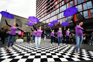 Compagnie Violetta bij het IDDFestival in Rotterdam.